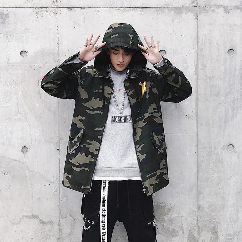 X Camoflage Jacket [Yellow] | Swintly - 5
