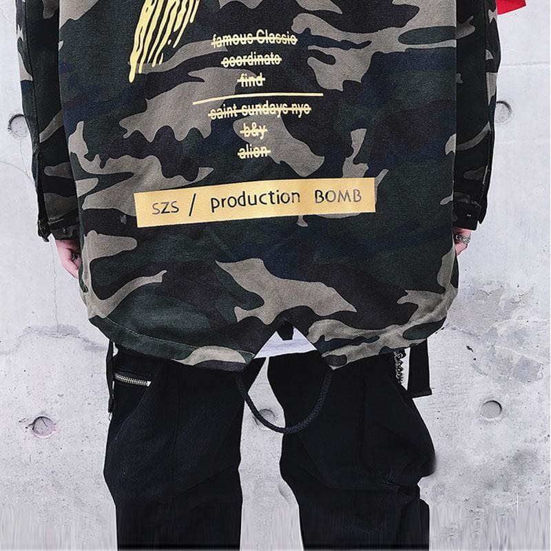 X Camoflage Jacket [Yellow] | Swintly - 4