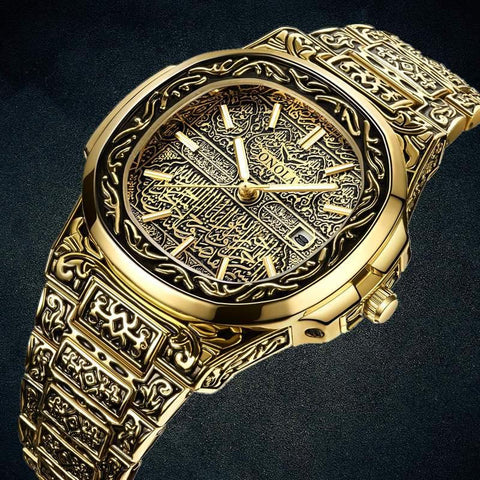 Deluxe Qur'an Calligraphy Watch
