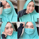Hijab with Mask 10 Colors