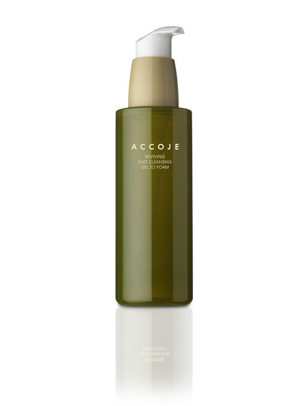 Accoje Reviving Dust Cleansing Gel to Foam