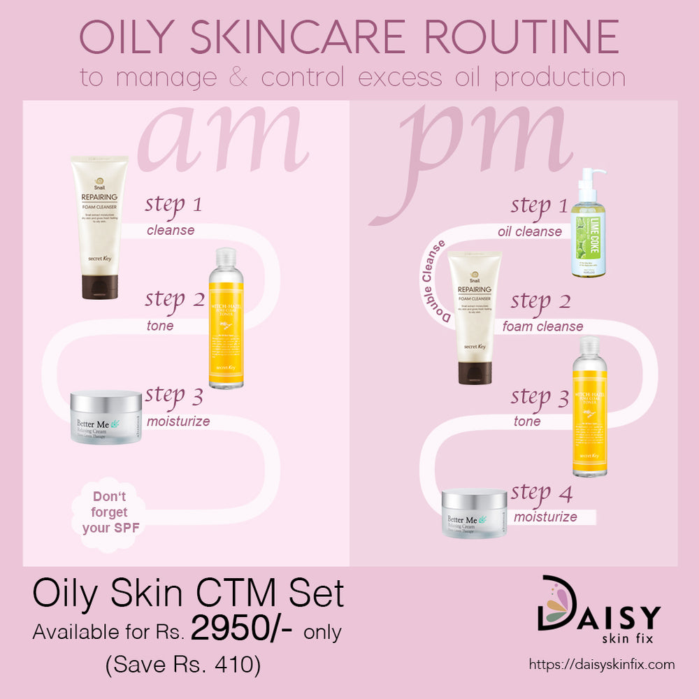 CTM Oily Skincare Set