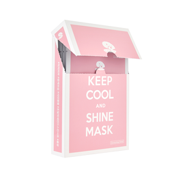 Keep Cool SHINE INTENSIVE BRIGHTENING MASK 25G (10 Sheets)