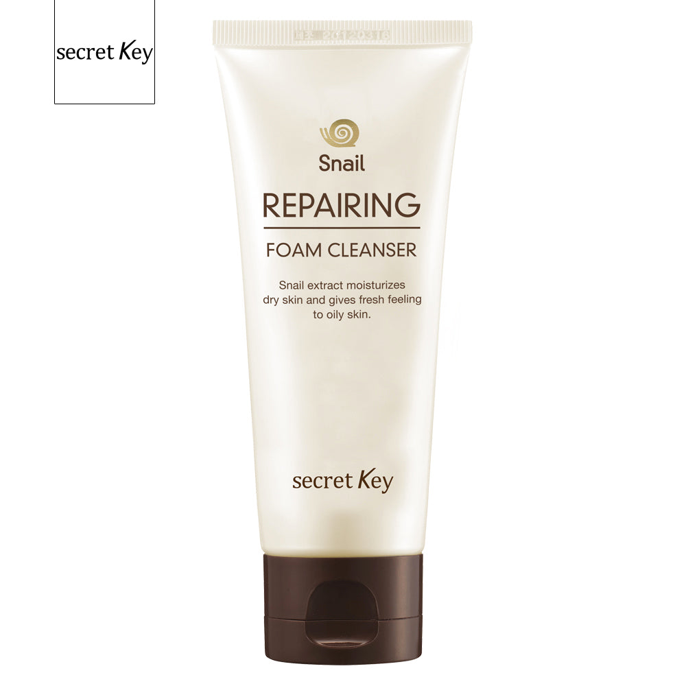 SECRET KEY SNAIL REPARING FOAM CLEANSER