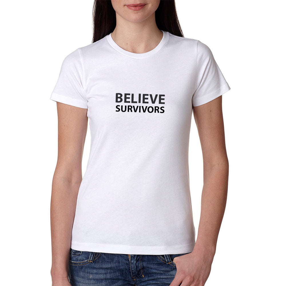 Believe Survivors (White) T-Shirt