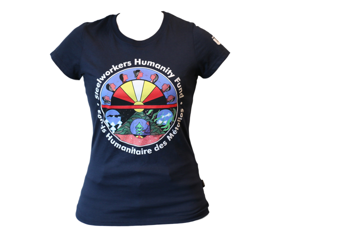 Unisex 'Steelworkers Humanity Fund' | 'Fonds humanitaire des Métallos' T-Shirt