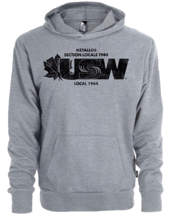 Unisex Heather Grey Hoodie