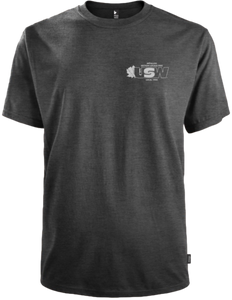 T-shirt gris Keeping Canada Connected pour homme / unisexe