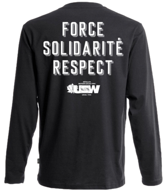 Black Long Sleeves Fist