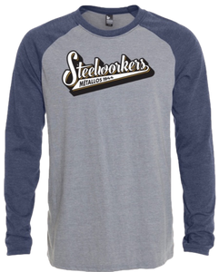 Raglan Baseball Long Sleeves Tshirt