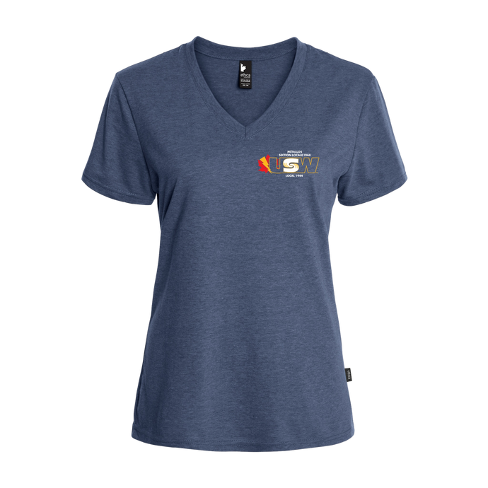 Women's Heather Blue T-shirt