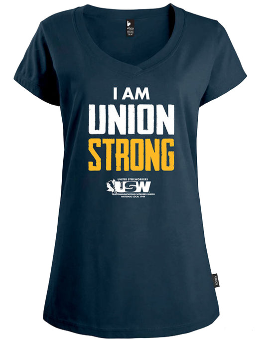 "Tee-shirt pour femme ""I Am Union Strong"""