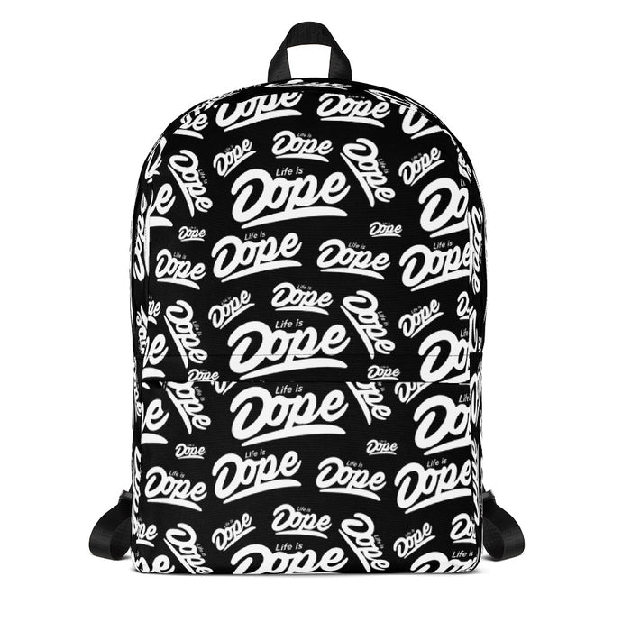 Life is Dope Flooded Backpack