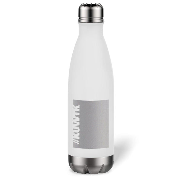 Keeping Up with the Kardashians Block Hashtag Stainless Steel Slim Water Bottle