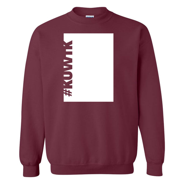 Keeping Up with the Kardashians Block Hashtag Fleece Crewneck Sweatshirt