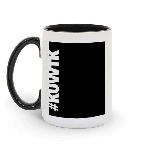 Keeping Up with the Kardashians Block Hashtag Two-Tone Mug