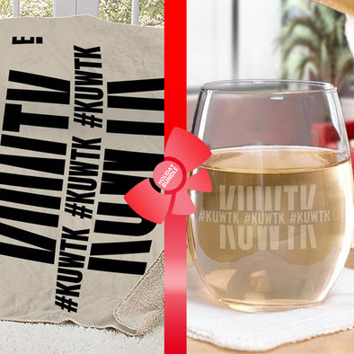 Keeping Up with the Kardashians Hashtag Gift Wrapped Bundle