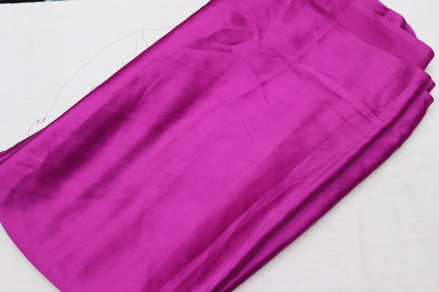 Plain Satin Fabric