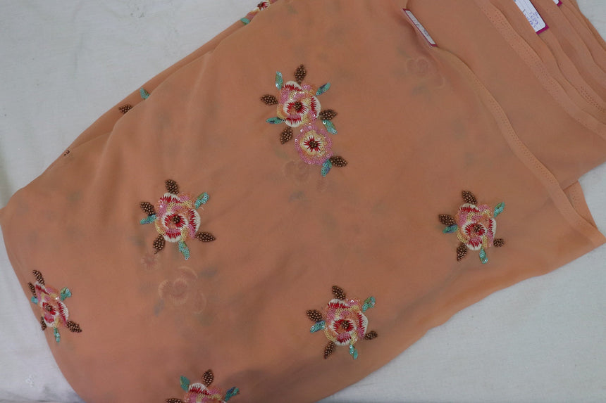 Embroidery On Georgette Fabric