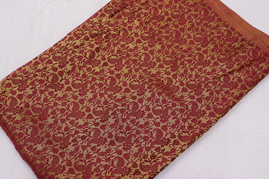 Banarasi Brocade Fabric In SALE