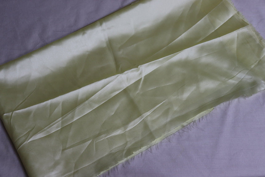 Plain Satin Fabric  (0.50 Meter Cut Piece)