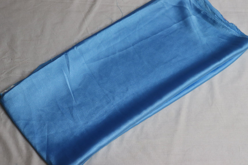 Plain Satin Fabric  (1 Meter Cut Piece)