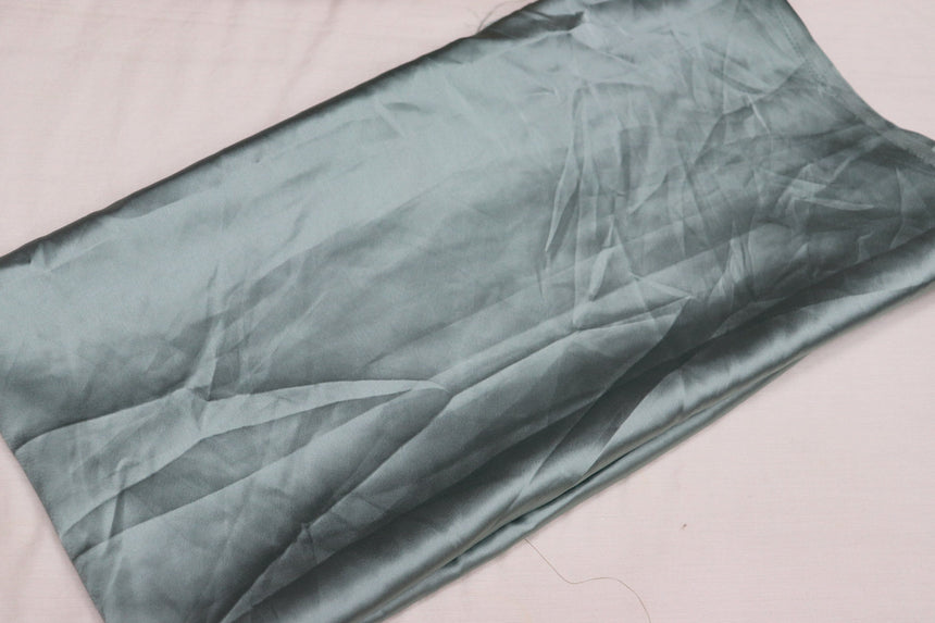 Plain Satin Fabric 2.10 Meter Cut Piece)