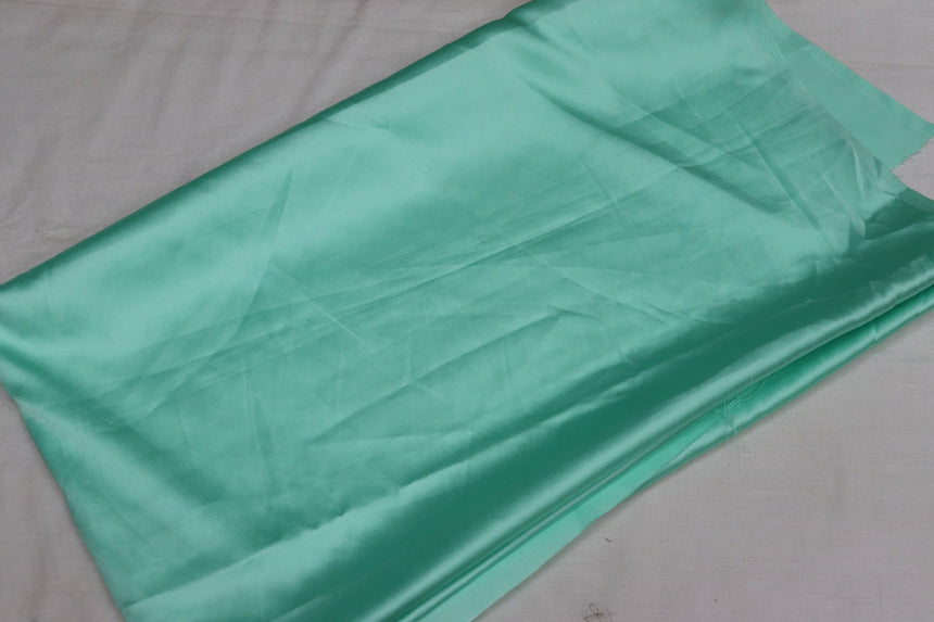 Plain Satin Fabric 2.25 Meter Cut Piece)