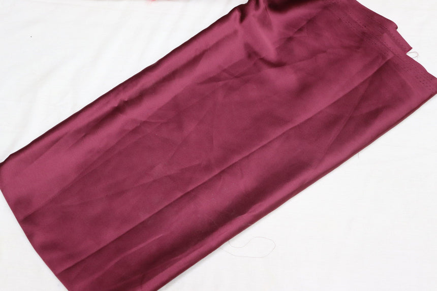 Plain Satin Fabric (2 Meter Cut Piece