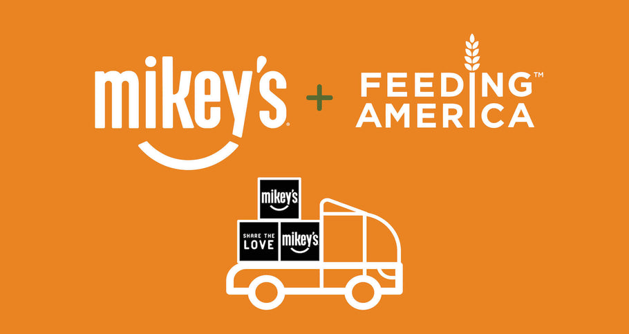 Mikey's Gives Back Through Feeding America