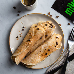 coffee cream cheese crepes