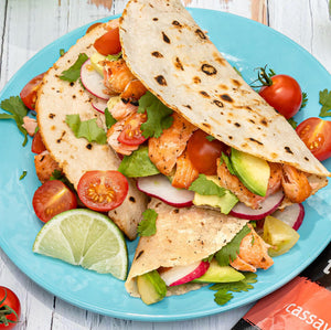 paleo grilled salmon tacos