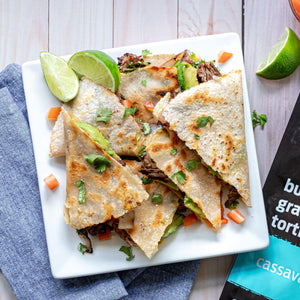 paleo grilled steak quesadillas