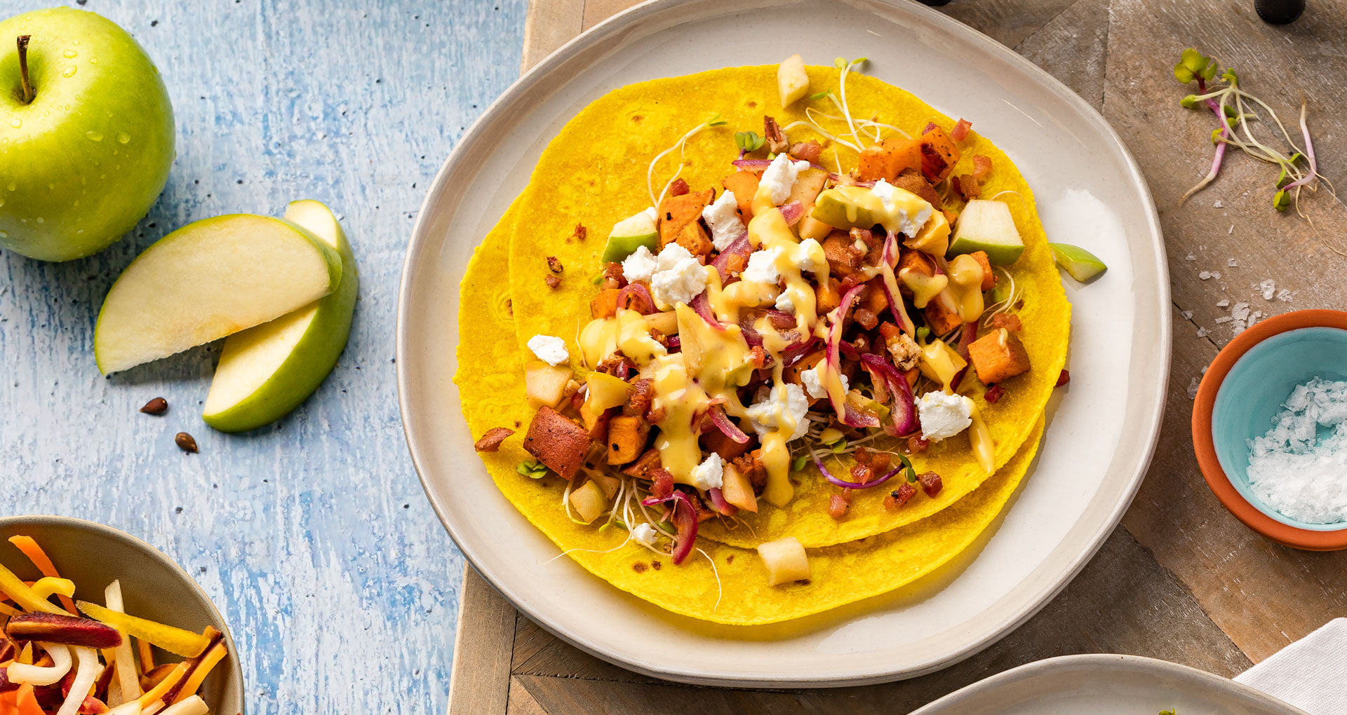 Mikey's Autumn Sweet Potato Tacos