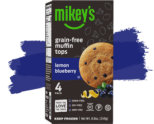 Grain-Free Muffin Tops—Lemon Blueberry