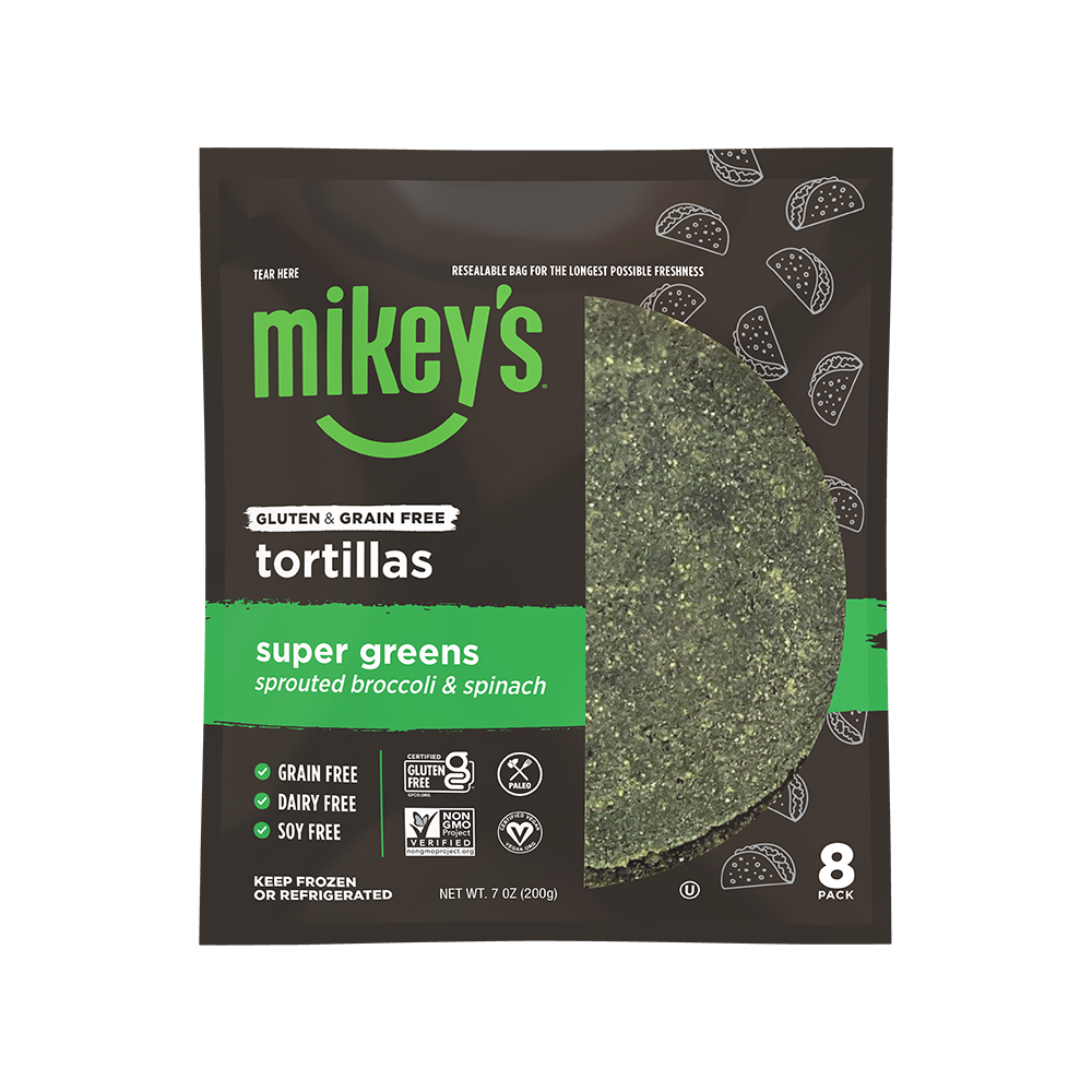 super greens tortillas