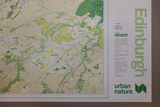 Flat Edinburgh Urban Nature Map