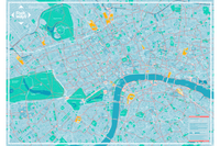 Flat Central London Footways - Map