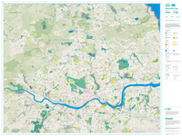 Flat Newcastle Map