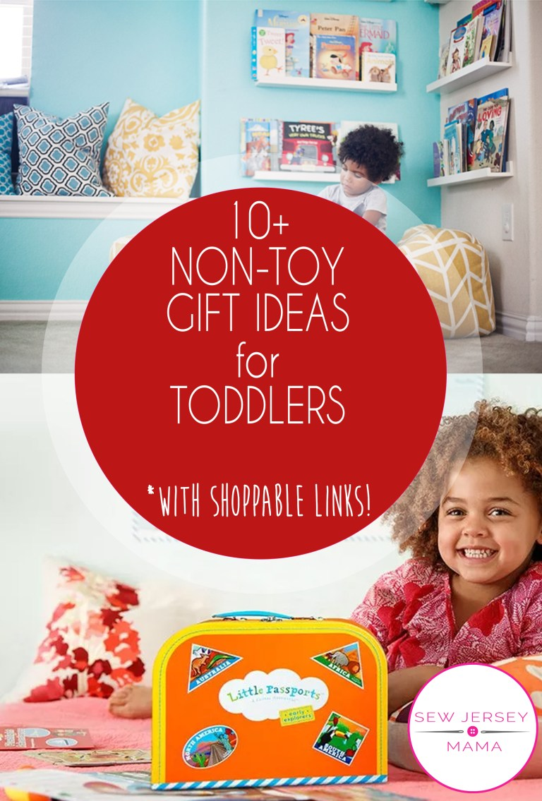 10+ Non-Toy Gift Ideas for Toddlers