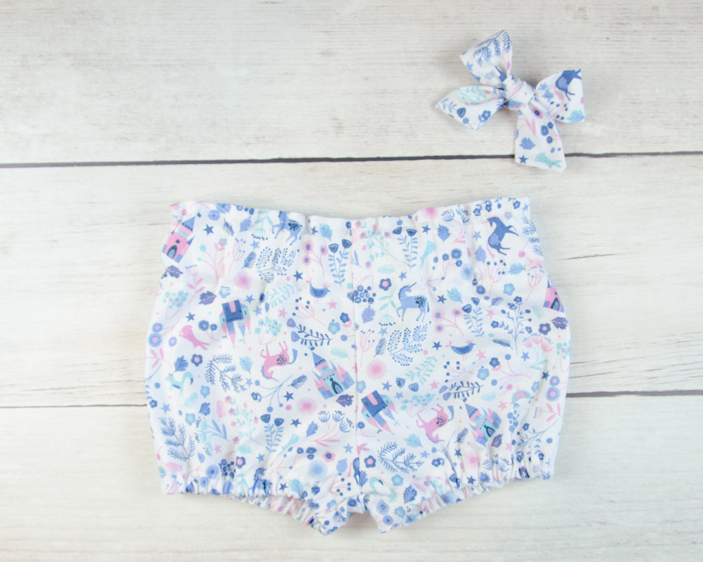 Little Unicorns Baby Toddler Bloomers or Skirts