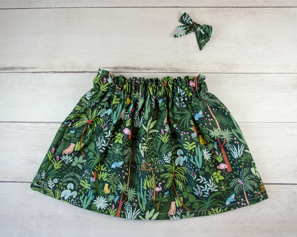 Jungle Baby Toddler Bloomers or Skirts