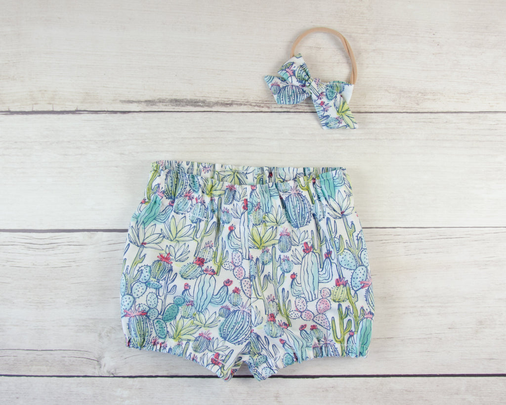 Cactus Baby Toddler Bloomers or Skirts