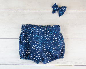 Ocean Fish Baby Toddler Bloomers, Skirt or Pants