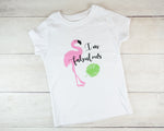 Fitted Flamingo Toddler T-Shirt