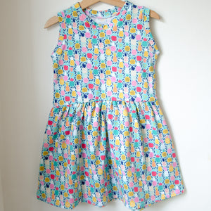 Pineapples Twirl Dress Baby Toddler
