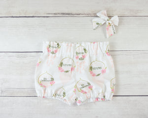 Boho Baby Toddler Bloomers or Skirt Outfit
