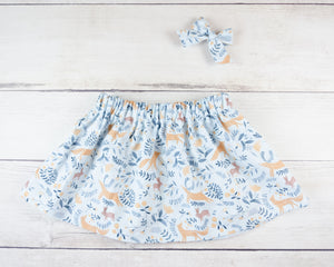 Adorable baby toddler fox skirt or bloomers from Milk & Bones