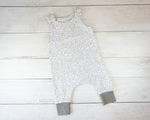 Fox Harem Romper Baby Toddler