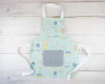 Science Theme Toddler Apron